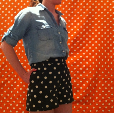 Polka dot Iris shorts